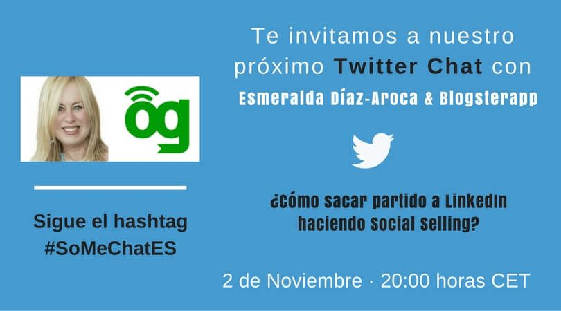 ¿Cómo hacer Social Selling con LinkedIn? Twitter chat